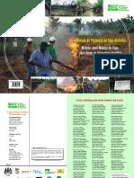 Tecnicas de Prevencao de Fogo Acidental Metodo Bom Manejo de Fogo Para Areas de Agricultura Familiar