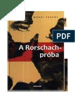Mérei Ferenc a Rorschach Próba