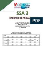PROVA SSA 3 1 DIA