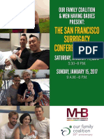 2017 SF Surrogacy Conference, Jan 14-15