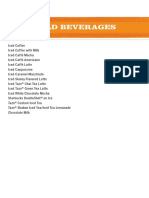 Beverage Resource Manual - 05 Recipe Cards - Cold(1)
