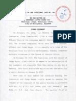 Hayes COJ Agreement