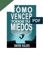 Valois David - Como Vencer Todos Tus Miedos