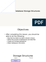 Oracle Managing Storage