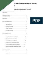 Daftar Isi Makalah Bahasa Indonesia