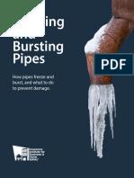 Freezing & Bursting Pipes