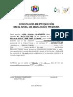 Formato de Constancia de Promoción Año Escolar 2015-2016[1]