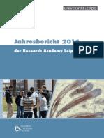 Jahresbericht2014 der Research Academy Leipzig
