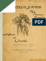 Barrès Maurice - Un Amateur d'Âmes