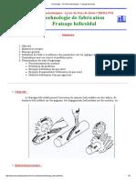 Technologie - STS Microtechniques _ Fraisage Hélicoïdal