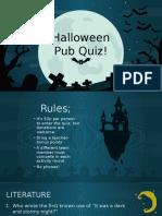 s Poopy Scary Pub Quiz