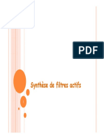Synthèse Filtres Actifs -1