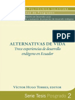 Alternativas de Vida Trece Experiencias de Desarrollo Endogeno en Ecuador