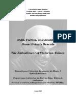 Myth, Fiction & Reality in Bram Stoker's Dracula - C. BUSELLI 2010