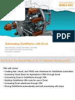 SolidWorks 2011 - Automação