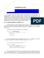 Estructura de Un Programa en Java
