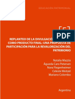 EDUCACIÓN PATRIMONIAL