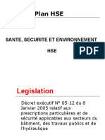 Plan HSE