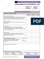 Formulario Para Processo de Gerenciamento de Performance