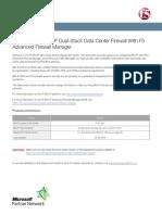 f5 Data Center Firewall Dg