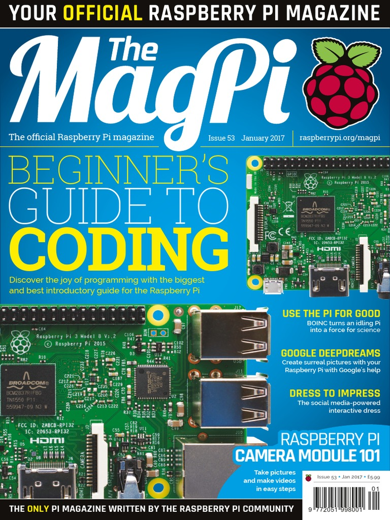 Mag Pi Magazine For Raspberry Issue 53 Command Line Interface Wiringpi2 Python I2c Internet Of Things
