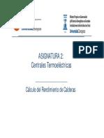 2.3. Centrales Convencionales - Ejercicio y Tarea