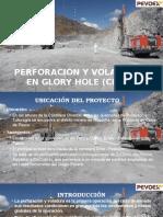 Perforación y Voladura en Glory Hole (Cma
