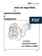 Manual Tornillos Transportadores Fmc-link Belt