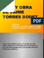 Vida y Obra de Jaime Torres Bodet