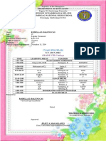 Class Program 2015-2016