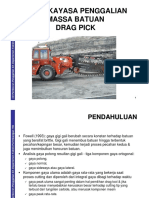 PPTA354-4B Rock Excavation Cutting Drag