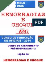 APH Hemorragias e Choque ( MELO e DIAS)