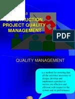 Lecture 7-Construction Project Quality Management