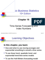 BBS10 Ppt Mtb Ch16 TS Forecasting & Index Number