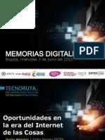 Javier Méndez ENTER.co Internet de Las Cosas