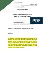 Dolo Eventual -Jose Leonidas Bustos Martinez-Corte Suprema de Justicia