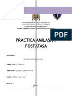 Amilasa y Fosfatasa