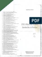 Etica Psicologia Libro