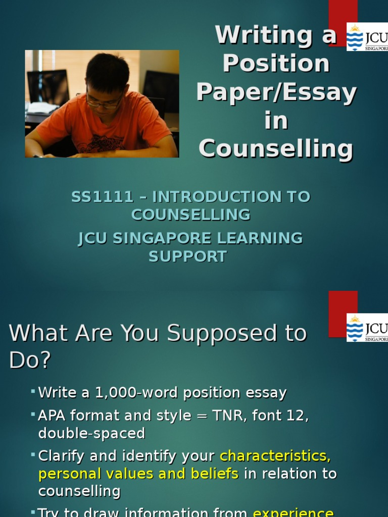 Illustration Essay Example Papers  Thesis Argumentative Essay also Apa Style Essay Paper Writing A Position Paper  Essays  Attitude Psychology Essays On Science And Religion