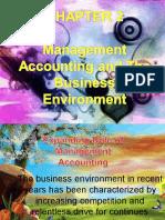Mgt Acctg & Its Environment