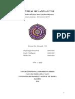 Makalah Identitas Muhammadiyah