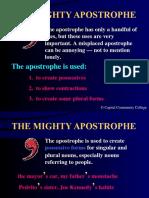 Apostrophe - Grammer