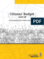 Citizens Budget 2017-18