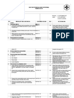 Daftar Tilik Audit Internal Loket