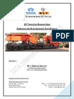 30T Triple Axle-UD210