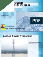 2. Jenis Tower PLN