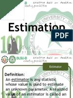 Engineering Probability and Statistics Estimation