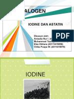 PPT Halogen (Iodin Dan Astatin)