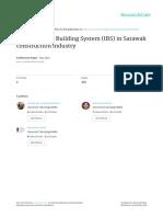 Industrialised Building System (IBS) in Sarawak