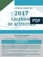 ISACA Seminar List as of Jan 2017